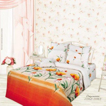 КПБ 1,5 Lux Cotton 'Romantic' КБR-11 рис. 11562/11563 вид 2 Джульетта (285625), фото 2
