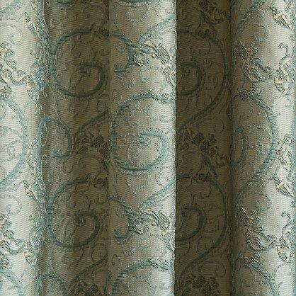 """Комплект штор """"Шарлотта Бирюзовый"""", 170*290 см (ml-100035), фото 3"""
