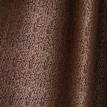 "Комплект штор ""Вилора Коричневый"", 180*290 см (ml-100043), фото 2"