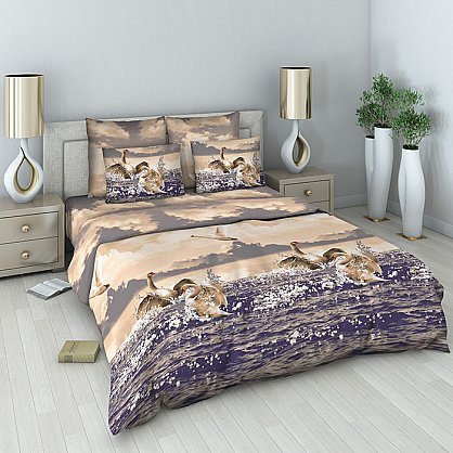 """Комплект постельного белья """"Безмятежность"""" 302 (1.5 спальное) (097002), фото 1"""