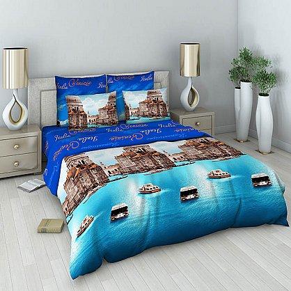 """Комплект постельного белья """"Венеция"""" 303 (евро) (100273), фото 1"""