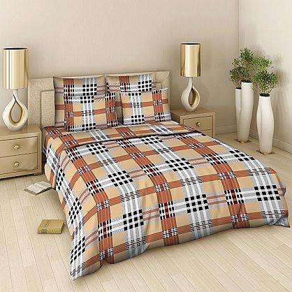 """Комплект постельного белья """"Бербери"""" 306 (евро) (101229), фото 1"""