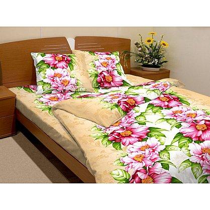 """Комплект постельного белья """"Розовый пион-3"""" 3091-3 (1.5 спальное) (063285), фото 1"""