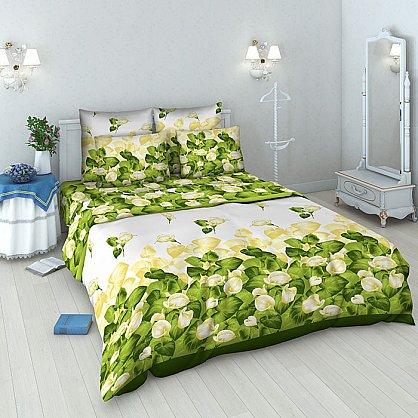 """Комплект постельного белья """"Каллы"""" 3443 (v-3443), фото 1"""