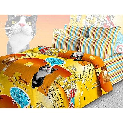 """Комплект постельного белья """"Мистер Кэт"""" 3641 (102172), фото 2"""