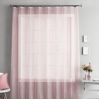 """Тюль """"Аника Розовый"""", 250*280 см (ml-100757), фото 1"""