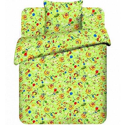 """Комплект постельного белья """"На воздушном шаре-3"""" 3667-3 (бэби) (103740), фото 1"""