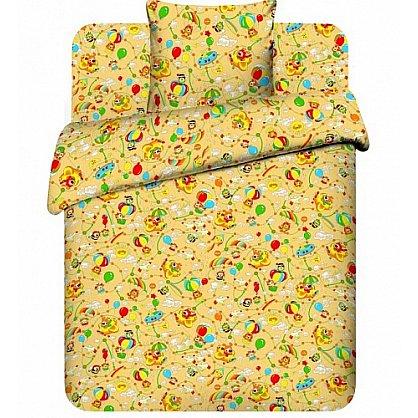 """Комплект постельного белья """"На воздушном шаре-4"""" 3667-4 (бэби) (103741), фото 1"""