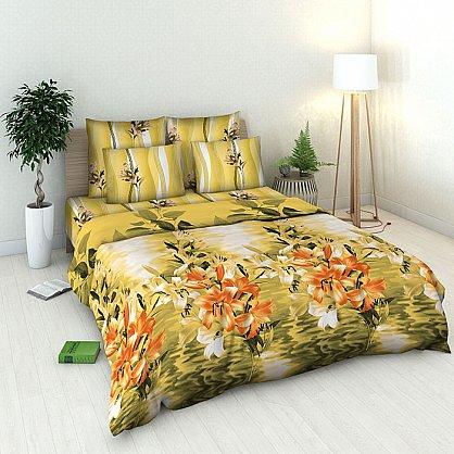 """Комплект постельного белья """"Белые лилии"""" 3713-2 (v-3713-2), фото 1"""