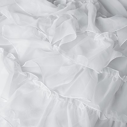 "Комплект штор ""Ноа Белый"", 145*270 см (ml-100655), фото 2"