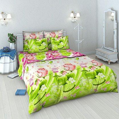 """Комплект постельного белья """"Яблочный фреш"""" 3938 (1.5 спальное) (097780), фото 1"""