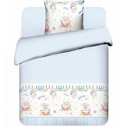 """Комплект постельного белья """"Плюшевые мишки-1"""" 3975-1 (бэби) (102631), фото 1"""