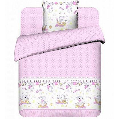 """Комплект постельного белья """"Плюшевые мишки-2"""" 3975-2 (юниор) (102638), фото 1"""