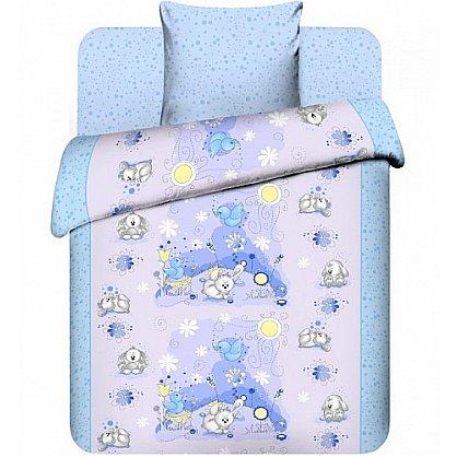 """Комплект постельного белья """"Плюшевые зайки-2"""" 3976-2 (Бэби) (104430), фото 1"""