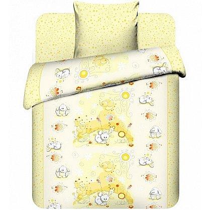 """Комплект постельного белья """"Плюшевые зайки-3"""" 3976-3 (Бэби) (102690), фото 1"""