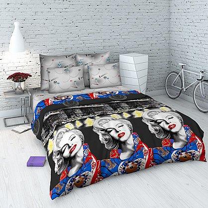 """Комплект постельного белья """"Мэрилин"""" 4113 (евро) (098011), фото 1"""