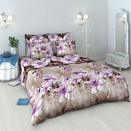 """Комплект постельного белья """"Магнолия"""" 4151 (евро) (098399), фото 1"""
