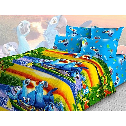 """Комплект постельного белья """"Путешествие по Амазонке"""" 4216 (099847), фото 1"""