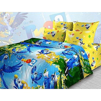 """Комплект постельного белья """"Приключения в тропическом лесу"""" 4217 (099917), фото 1"""