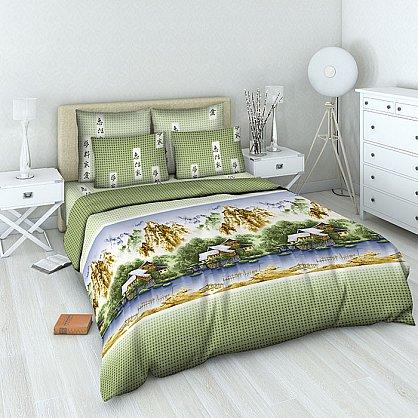 """Комплект постельного белья """"Китайская акварель"""" 4271 (1.5 спальное) (100778), фото 1"""