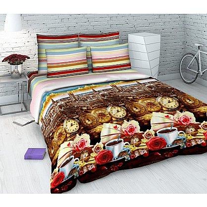 """Комплект постельного белья """"Утро в Лондоне"""" 4312 (евро) (102406), фото 1"""