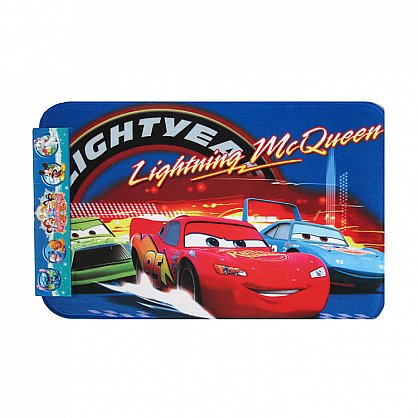 Детский коврик для ванной Lightning McQueen, 50*80 см (tg-1308-05), фото 1