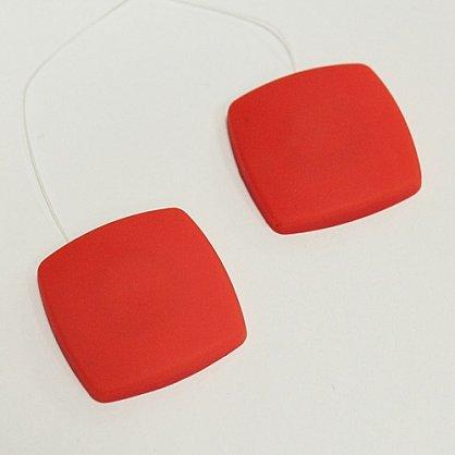 Набор магнитов AL 7 квадратная леска, красный (tr-101709), фото 1