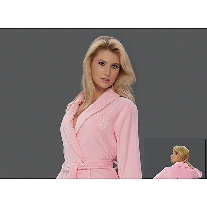 Халат женский Virginia Secret, Розовый, р. M/L (46-48) (tg-100306), фото 2