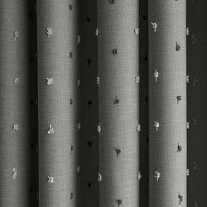 """Комплект штор """"Мемфис Серый"""", 180*300 см (ml-100235), фото 3"""