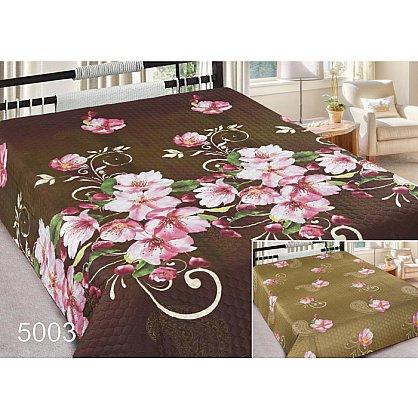 Покрывало Шарм №5003, коричневый, розовый, 180*220 см-A (mn-5003-180-A), фото 1