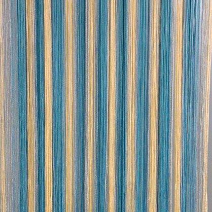 Кисея нитяная штора на кулиске радуга №109 (R-109N), фото 1