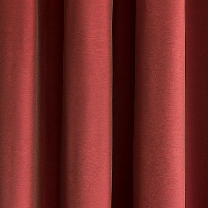 """Комплект штор """"Глория Бордовый"""", 140*280 см (ml-100399), фото 3"""