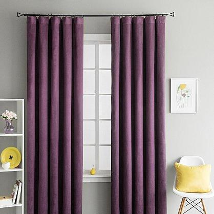 """Комплект штор """"Брида Фиолетовый"""", 190*290 см (ml-100423), фото 1"""