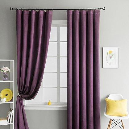 """Комплект штор """"Брида Фиолетовый"""", 190*290 см (ml-100423), фото 2"""
