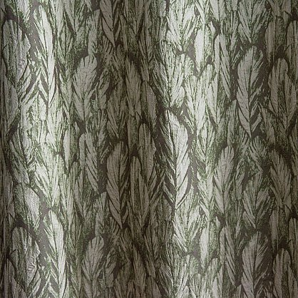 """Комплект штор """"Веста Зеленый"""", 170*290 см (ml-100020), фото 2"""