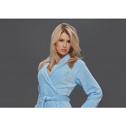 Халат женский Virginia Secret, Голубой, р. S/M (44-46) (tg-100089), фото 2