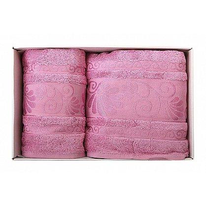 "Набор полотенец ""Opriori"", розовый, 2 шт. (F-opriori-roz), фото 1"