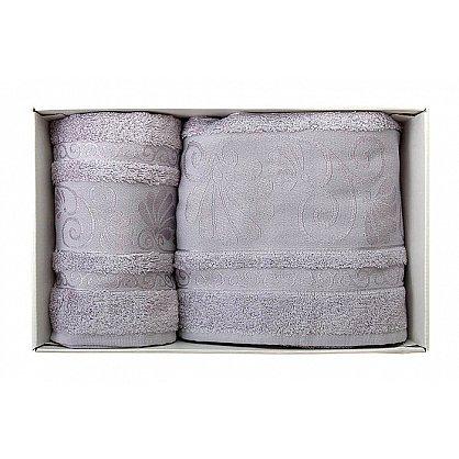 "Набор полотенец ""Opriori"", серый, 2 шт. (F-opriori-seri), фото 1"
