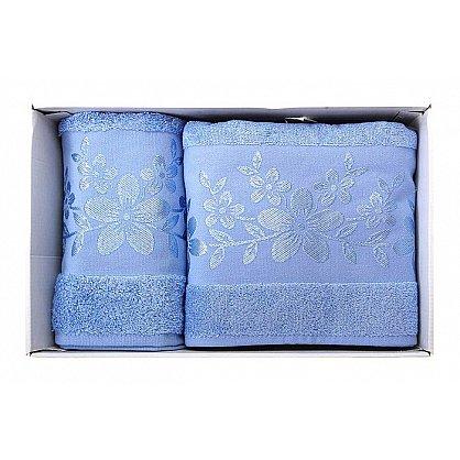 "Набор полотенец ""Verona"", синий, 2 шт. (7010-F-verona-sin), фото 2"