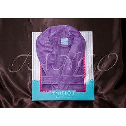 Халат женский Anjelou, Фиолетовый, р. L/XL (48-50) (tg-100050), фото 2