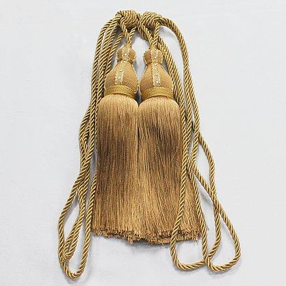 Кисти Ajur HK K2-149, золотой, 50 см (tr-101700), фото 1