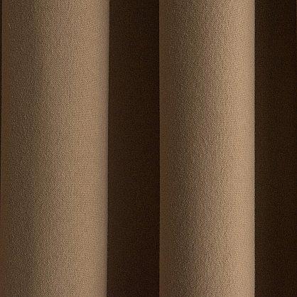 """Комплект штор """"Кэпитал Коричневый"""", 170*270 см (ml-100340), фото 2"""
