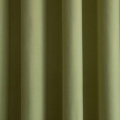 """Комплект штор """"Кэпитал Зеленый"""", 145*270 см (ml-100343), фото 3"""