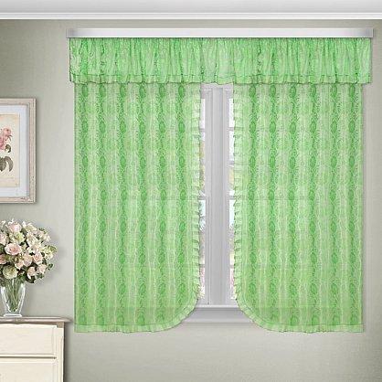 Комплект штор №88882, зеленый (zk-88882), фото 1