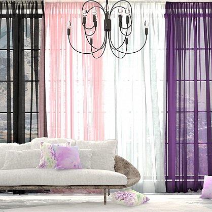 "Тюль ""Butterfly"", розовый, 300*270 см-A (ap-100478-A), фото 3"