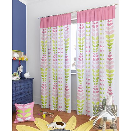 """Комплект штор """"Вейла-К"""", розовый, 260 см (233839-t), фото 1"""