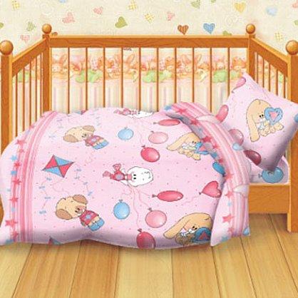 КПБ детский бязь 'Кошки-мышки' КДКм-1 рис.8460-2 Веселые друзья (249345), фото 2