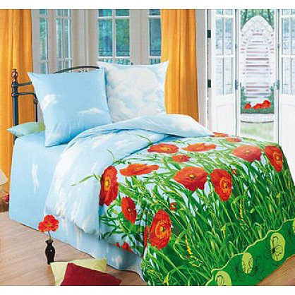 КПБ БИО Комфорт 'Любимый дом' вид 1 Маковый цвет (n-180), фото 1