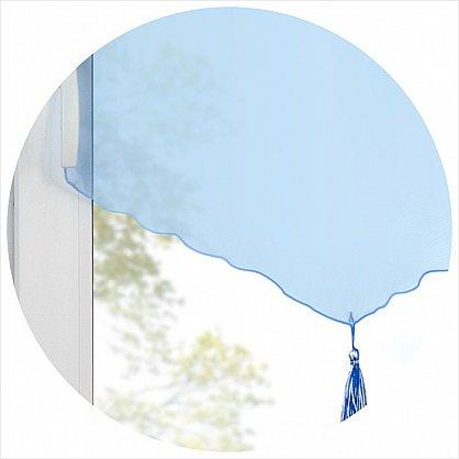 """Шторы """"Гольф"""", голубой (GL-gl-gr), фото 3"""