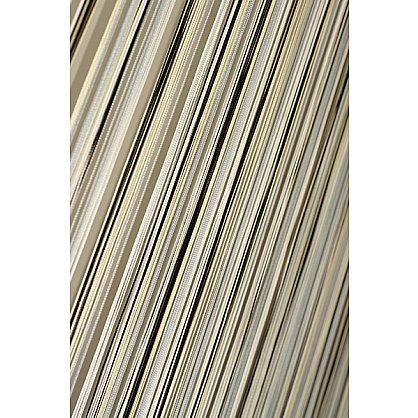 Кисея нитяная штора на кулиске радуга №101 (R-101), фото 1